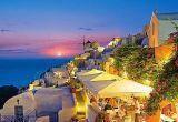 """Кастор пазлы 1000 """"Ночной Санторини. Крит,Греция"""" 68*47см, С-101849"""