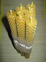 """Набор свечей """"Пирамида"""" (в наборе 6 шт.) Свечи ручной работы из натурального воска"""