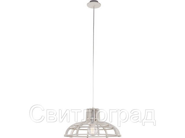 Светильник подвесной деревянный Nowodworski Новодворски  BIOWAY GRAY