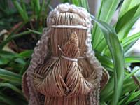 """Кукла-мотанка  из травы рогозы """"Ангел молящийся"""". (маленький)"""