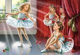 """Кастор пазлы 120 midi """"Школа балета"""" 32*23см, В-13036"""
