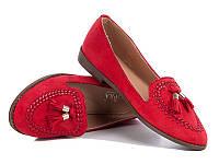 Туфли женские красные Большой выбор обуви на http://saxo.com.ua