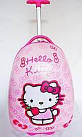 "Детский чемодан на колесах для девочек ""Hello Kitty"" 016-16-2"