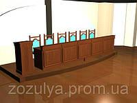Барьер для судей конференц зал Тип 2