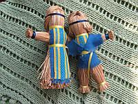 """Куклы-мотанки из рогозы """"Парочка"""" (маленькая), фото 1"""