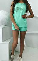 Костюм с шортами женский (майка+шорты), фото 1