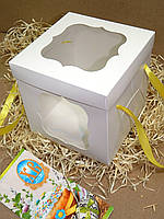Коробка для торта 17см х 17см х 17см, фото 1
