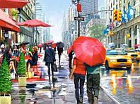 "Кастор пазлы 2000 ""Кафе, Нью-Йорк"" 92*68см, С-200542"
