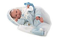 Llorens - новорожденная кукла мальчик Recien Nacido, 38 см