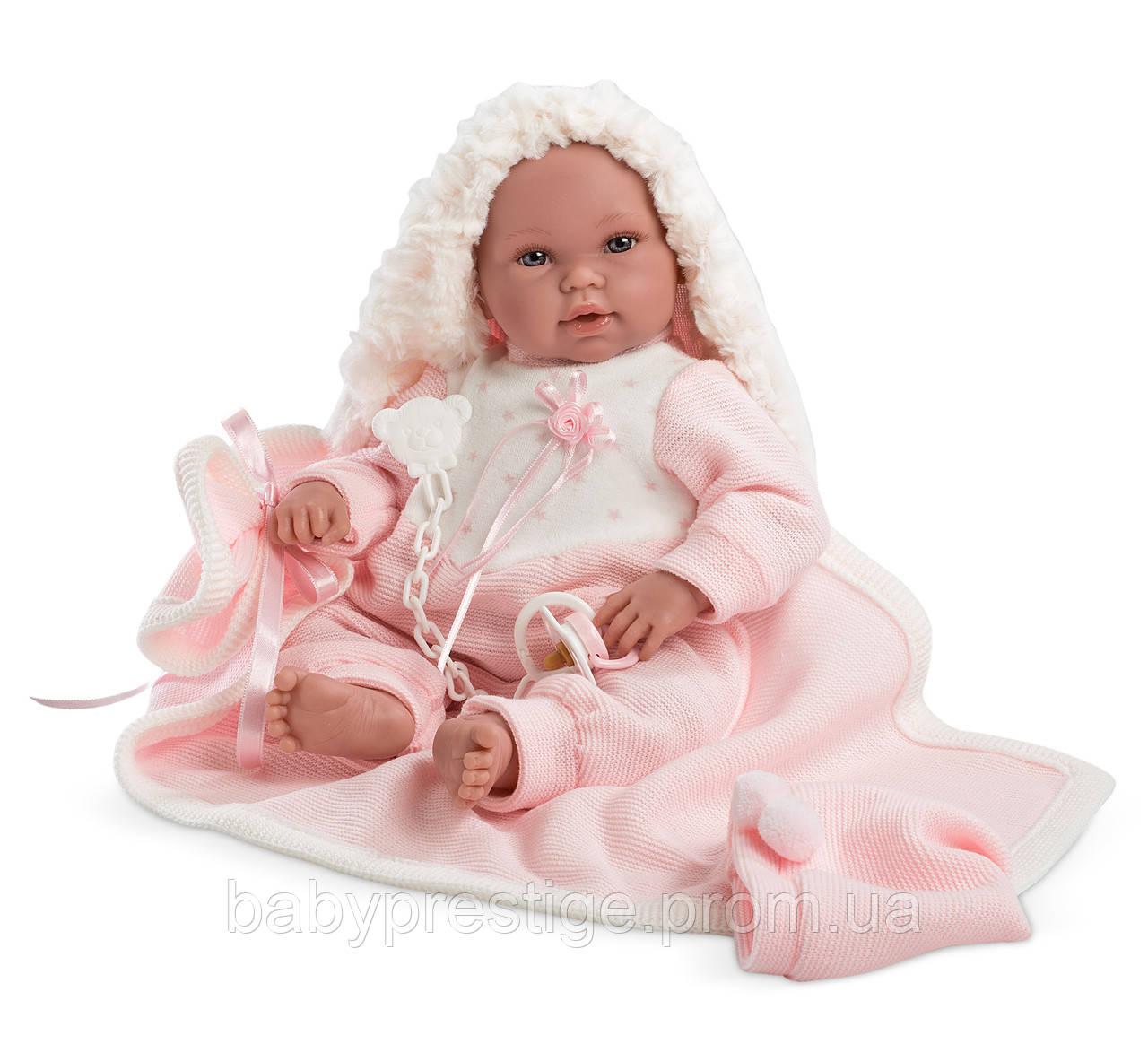 Llorens - новорожденная кукла девочка Recien Nacido, 38 см