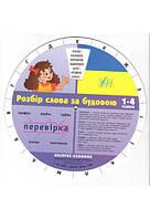 Экспресс - Словарь. Разбор слова по строению украинского языка 1 - 4 класс.