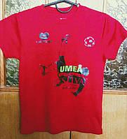 Детская футбольная футболка UMEA (140)