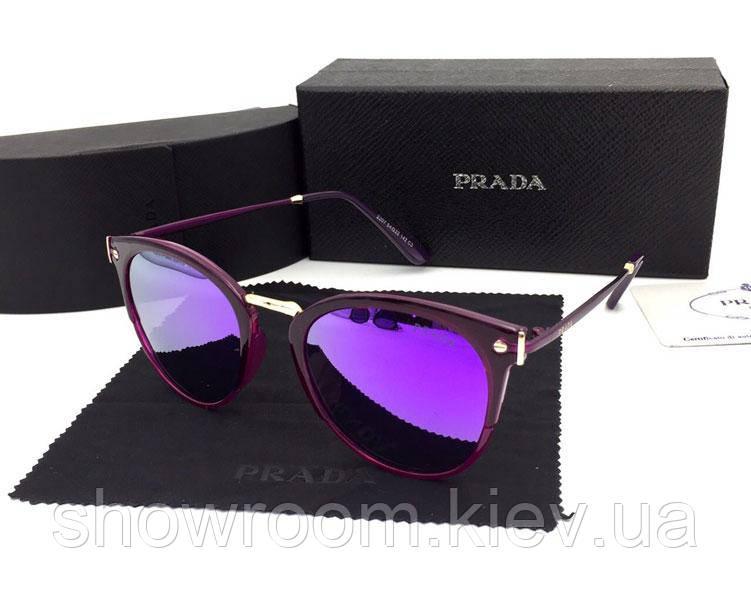 Солнцезащитные очки в стиле PRADA (2207) purple, фото 1