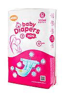 Детские подгузники «Honest Goods» размер 2 Mini 52 шт 3-8 кг 300 мл