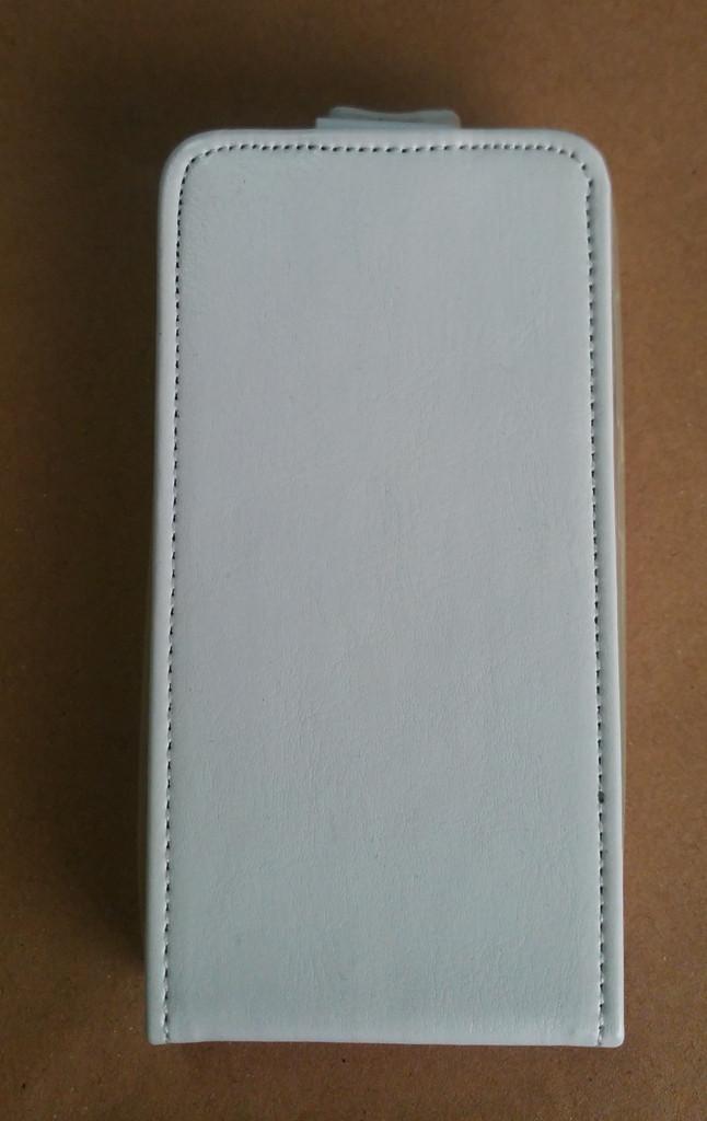 Чохол фліп Lenovo A369 Шкіра