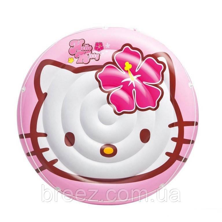 Детский надувной плотик для плавания Intex 56513 Hello Kitty 137 см