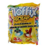 Жевательная конфета Toffix Sour (Кислий) 1000 гр (Elvan)