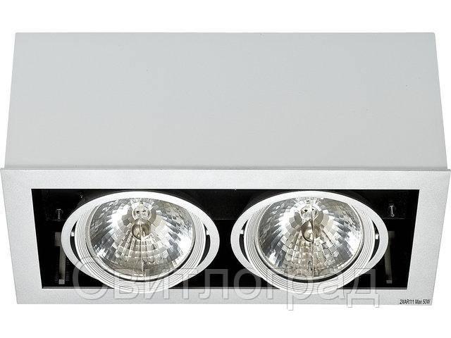 Светильник точечный накладной Nowodworski Новодворски  BOX gray II