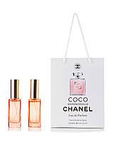 Парфюм 2 по 20 мл в подарочной упаковке Coco Mademoiselle Chanel для женщин