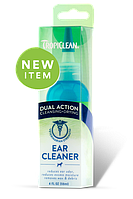 TropiClean Dual Action Ear Cleaner for Pets средство для ушей собак и кошек, 118 мл