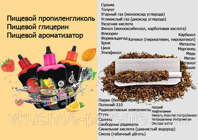 электронная сигарета купить вред и польза