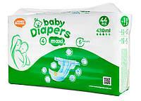 Детские подгузники «Honest Goods» размер 4 Maxi 44 шт 9-14 кг 430 мл