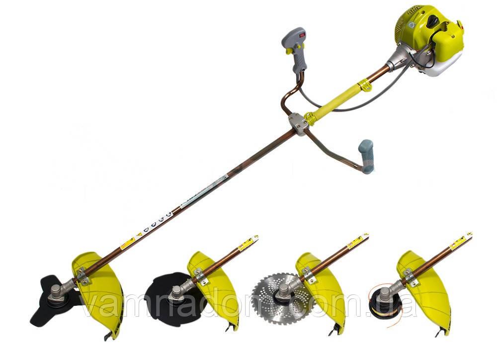 Бензокоса Eltos БГ-5500 Профессионал (3 ножа+1 шпуля с леской)