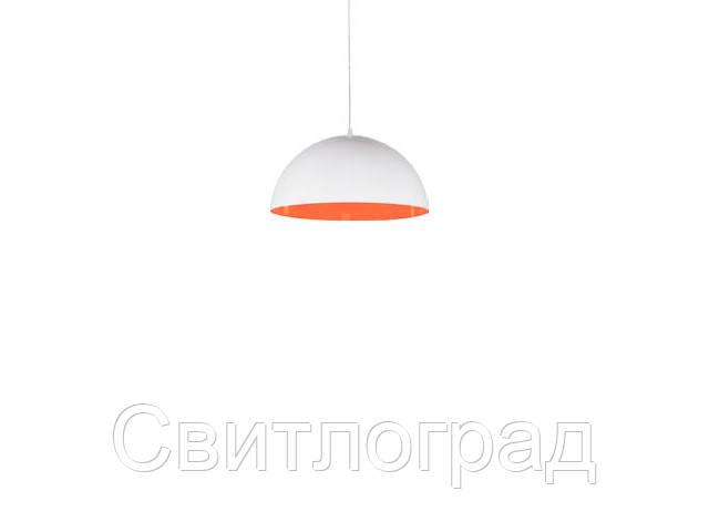 Светильник подвесной с плафонами Nowodworski Новодворски  HEMISPHERE WHITE-ORANGE FLUO S