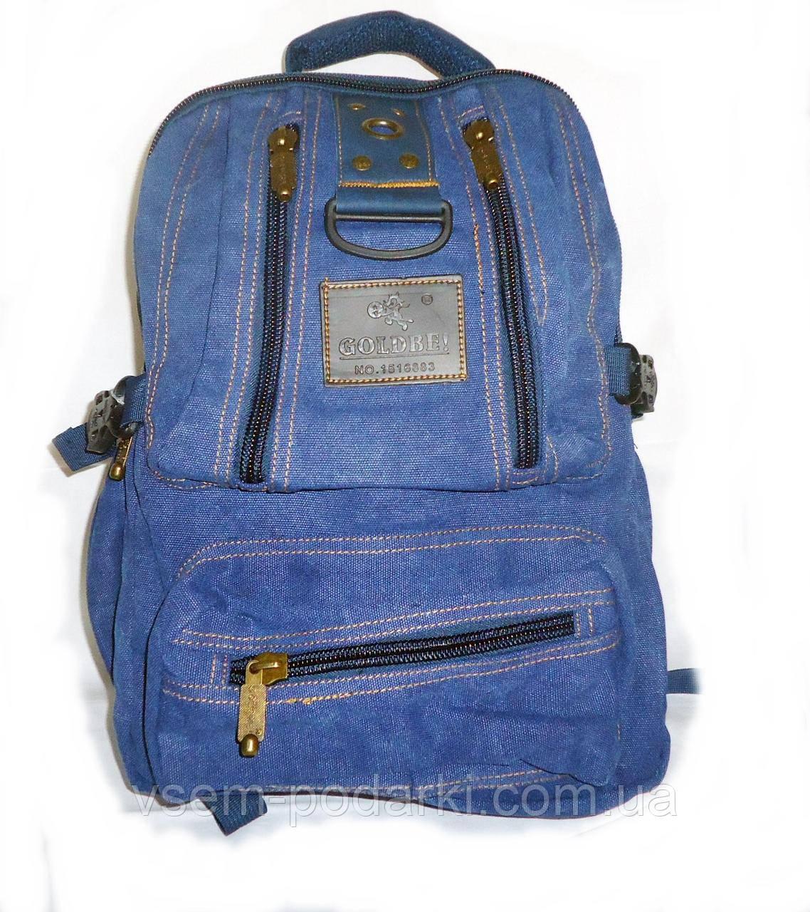 Джинсовый рюкзак GOLD BE! 1304 blue (средний), цена 440 грн., купить ... cececcb1633