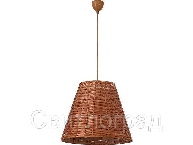 Светильник подвесной деревянный Nowodworski Новодворски  WILLOW I  M