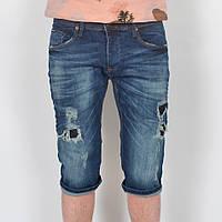 Чоловічі джинсові    шорти  з  дірками D&G- Турція