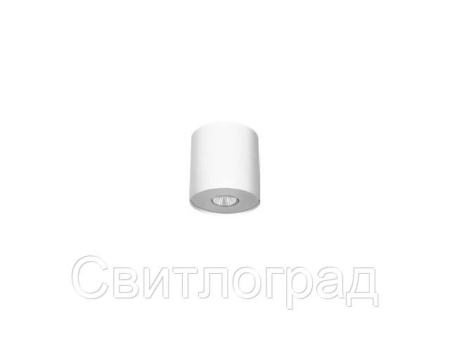 Светильник точечный накладной Nowodworski Новодворски  POINT WHITE SILVER / WHITE GRAPHITE M