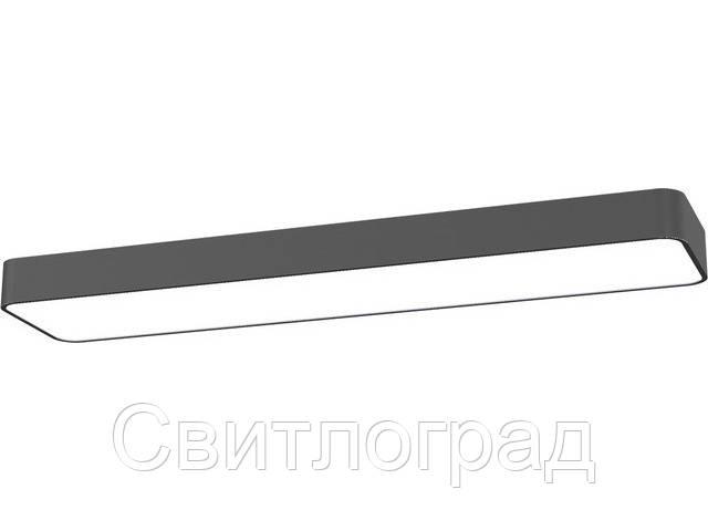 Светильник потолочный с плафонами Nowodworski Новодворски  SOFT GRAPHITE 90X20