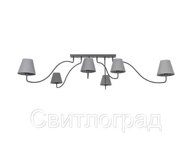 Светильник потолочный с абажуром Nowodworski Новодворски  SWIVEL GRAPHITE VI