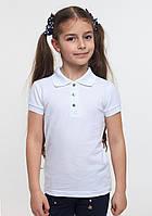 Футболка - поло для девочки тм смил арт. 114531 возраст 11- 15 лет