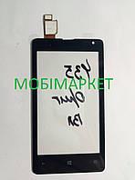 Сенсор (тачскрін) Nokia Lumia 435 чорний