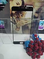 Защитное закаленное стекло 3D Fiber Full Screen Meizu M3s/M3 черное, на весь экран 9H 3D 0,15мм Oleophobic