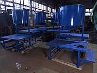 Станок для производства резиновой брусчатки
