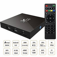 Медиаплеер SMART-TV приставка Android TV Box X96