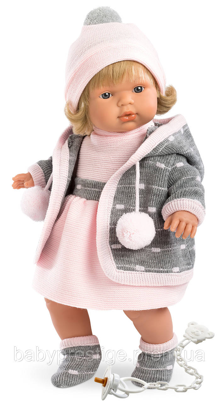Llorens, кукла-пупс девочка Lola, 38 см