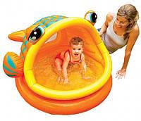 Детский надувной бассейн 57109 Intex РЫБКА