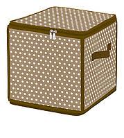 Коробка для хранения на молнии коричневая ESH05SL