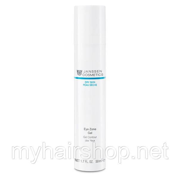 Гель от морщин для кожи вокруг глаз JANSSEN Dry Skin Eye Zone Gel 30 мл