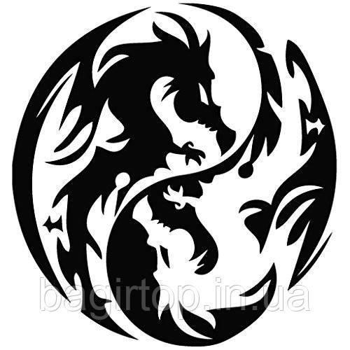 Виниловая наклейка- Дракон(57)