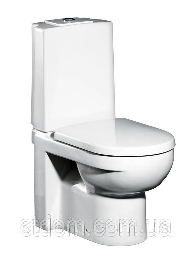 Унитаз напольный Gustavsberg Artic 4310 c сиденьем soft close, фото 1