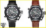 Легендарные мужские часы AMST Gimto Mountain  Коричневые Новые!