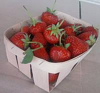 Упаковка для ягод и фруктов,корзинка из шпона, лукошко