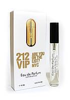 Женский мини-парфюм с феромонами Carolina Herrera 212 Vip (Каролина Эрейра 212 Вип), 10 мл