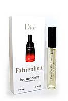 Мужской мини-парфюм с феромонами Christian Dior Fahrenheit (Кристиан Диор Фаренгейт), 10 мл