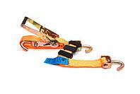 Ремень для крипления автомобиля трехточечный 3 м, 2,8 т вращающийся крюк